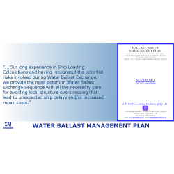 Water Ballast Management Plan